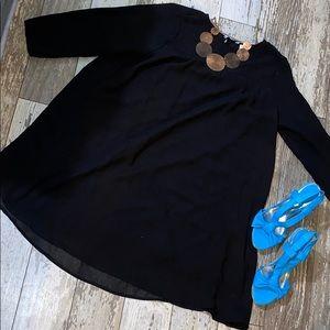 H&M Black Shift Dress